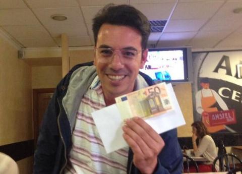 @Hiddencash el millonario de Twitter, en Madrid