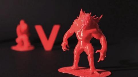 Evolve es un juego que te permite imprimir a sus personajes en plástico, con una impresora 3D, gratis.