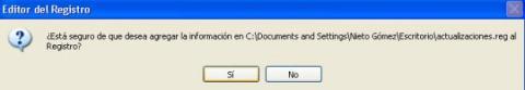 Editor registro