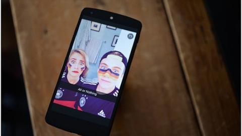 Snapchat ofrece vistas del Mundial