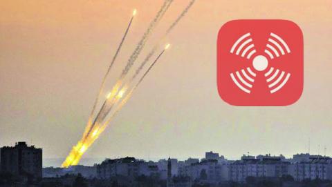 App para iPhone avisa de ataques a Israel desde Gaza