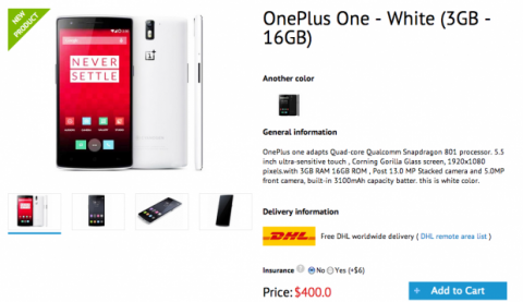 OnePlus One Flosmall