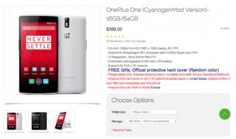 Comprar OnePlus One en OppoMart