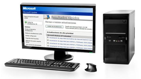Actualizaciones automáticas en Windows XP