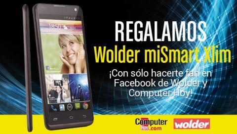 ¡Hazte Fan! Sorteamos un móvil Wolder miSmart Xlim