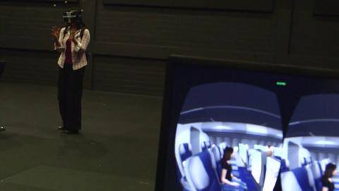 Oculus rift star trek holocubierta