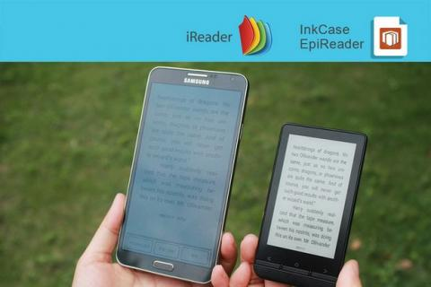 InkCase Plus, con pantalla de tinta electrónica