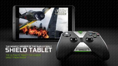 Se desvela NVIDIA SHIELD tablet, la tablet para juegos equipada con el procesador Tegra K1.