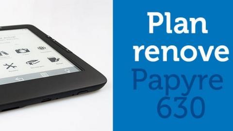 Plan Renove de Grammata: trae tu viejo eReader, llévate Papyre 630 a 79€