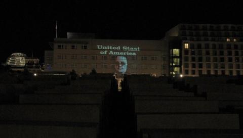 Protesta espionaje NSA