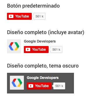 Botón suscribirse a Youtube