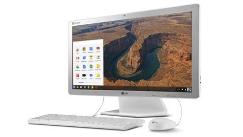 LG presenta nuevo All in One, el primero con Chrome OS