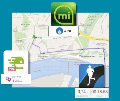 rutas apps running