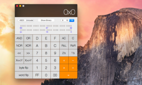 os x yosemite calculator