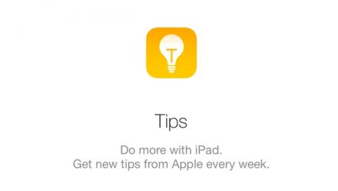 Tips, la nueva apps de Apple con trucos y pistas para iOS 8.
