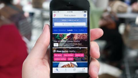 Foursquare nuevo Swarm