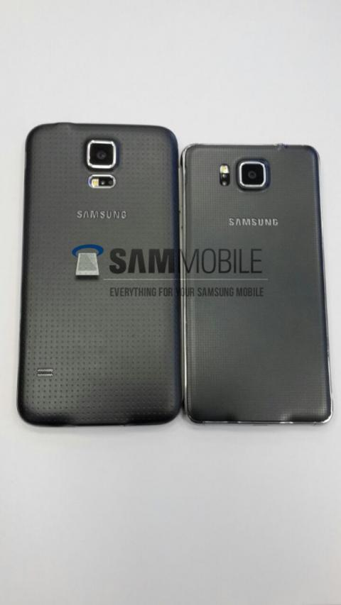 Samsung galaxy alpha comparación