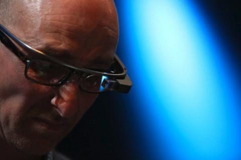 Google Glass triste