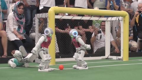 RoboCup 2014, el Campeonato del Mundo de Fútbol de Robots, se ha disputado en Brasil.