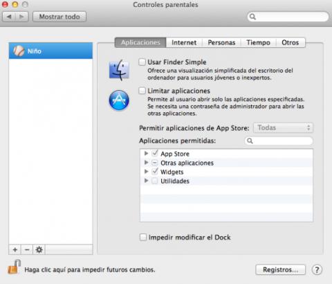 Aplicaciones en control parental de Mac