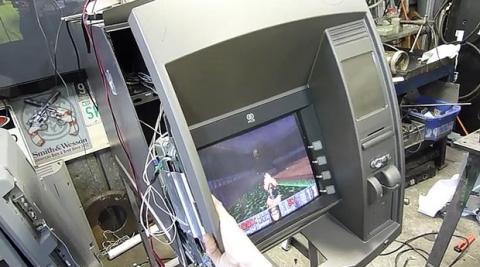 Hackear cajero automático
