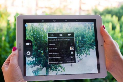 configuración de cámara del SPC Glow 9.7 3G