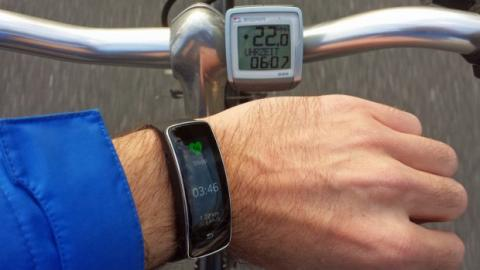 pulsometro gear fit ciclismo