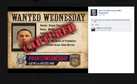 Fugado detenido por la policía gracias a Facebook