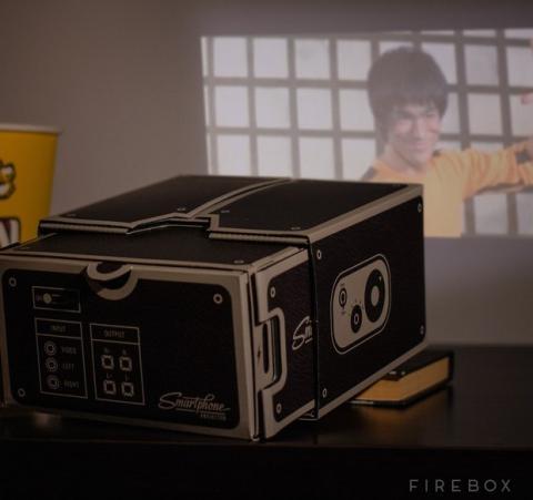 Convierte tu smartphone en un proyector