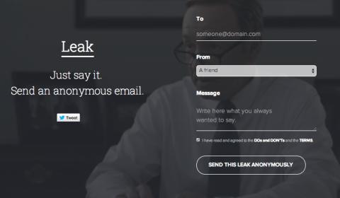 Leak anónimo