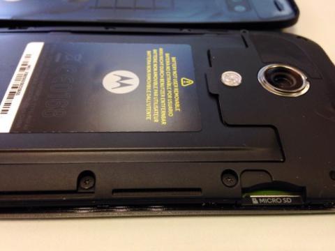 moto g microSD