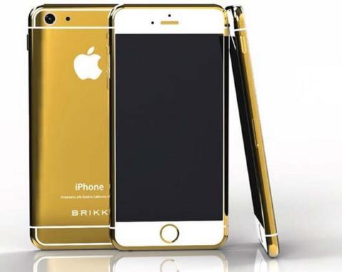 iPhone 6 oro 24 kilates