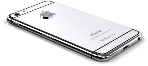 iPhone 6 carcasa de platino