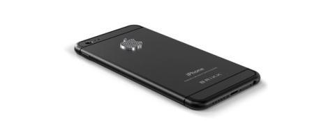 iPhone 6 con logo de diamantes