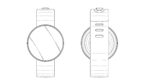 Samsung Smartwatch redondo