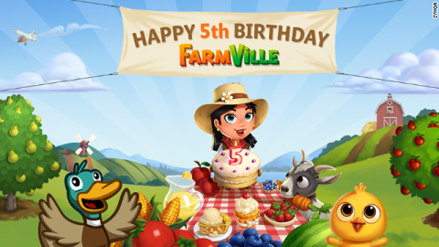 Farmville cinco años