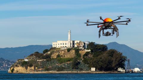 Drone cárcel