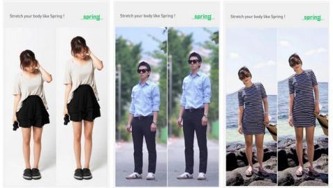 Spring es una app para Android que te ayuda a parecer más alto en las fotos, aumentando la estatura.