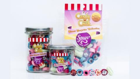 Spun Candy comercializa caramelos reales basados en los que aparecen en Candy Crash Saga.