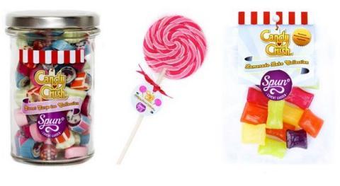 Caramelos y chuches reales de Candy Crush Saga
