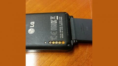 LG G Watch corrosión