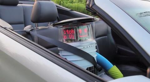 HitchBOT, el robot autoestopista