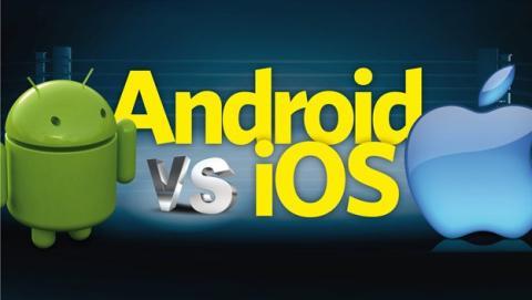 Usuarios de iOS más activos en Internet que los de Android