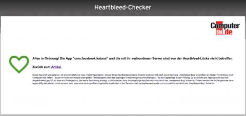 Heartbleed app
