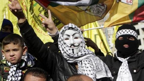 Anonymous declara la guerra a Israel por sus ataques a Gaza. La web del Mosad, caída.