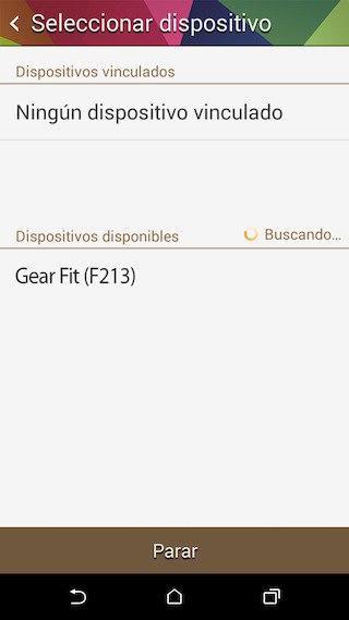 dispositivo compatible gear fit