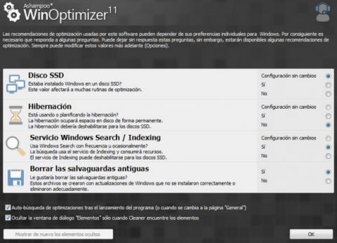 Winoptimizer SSD