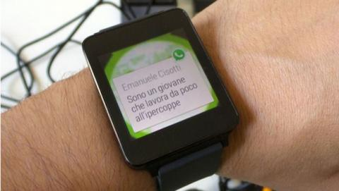 Así es WhatsApp para smartwatches con Android Wear