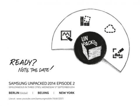 Unpacked Samsung Galaxy Note 4