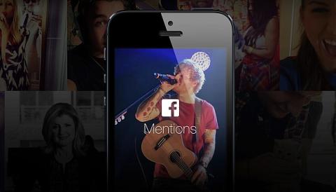 Llega Facebook Mentions, la red social para famosos